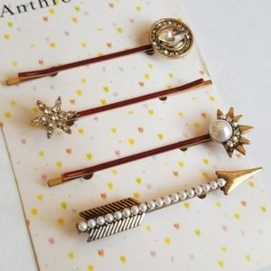 Anthropologie Hair Pin Set